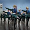 Кремлёвский полк заехал в Мытищи