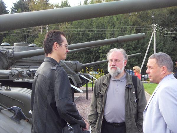 Владимир Чуров: «Меня  интересует история танкостроения…»