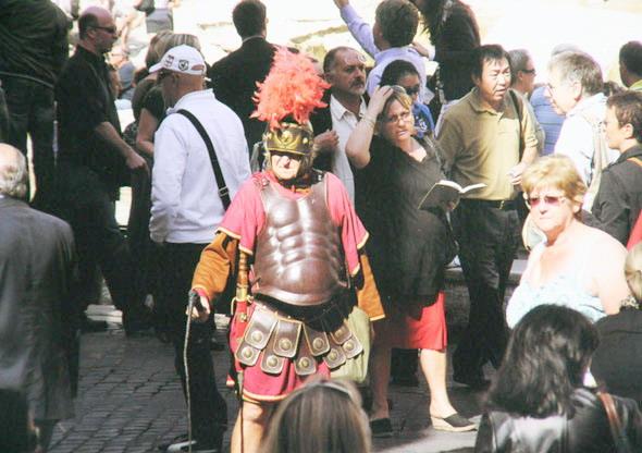 У «римского надсмотрщика» туристы не забалуют