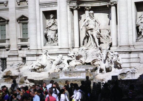 Фонтан Треви - король римских фонтанов