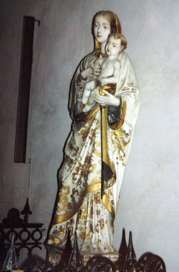 Мраморная мадонна из собора в Чефалу