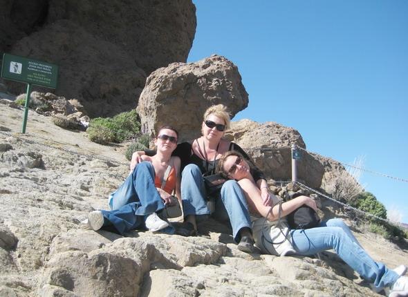 Тенерифе Среди скал
