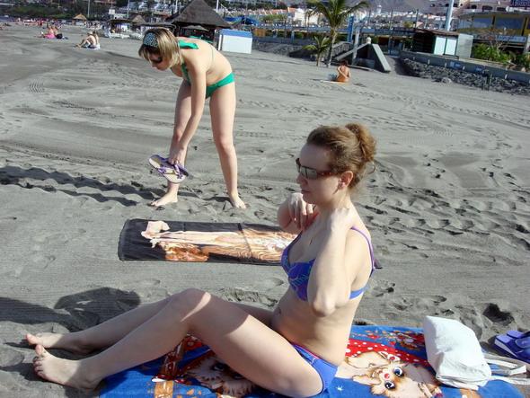 Тенерифе Чёрный песок