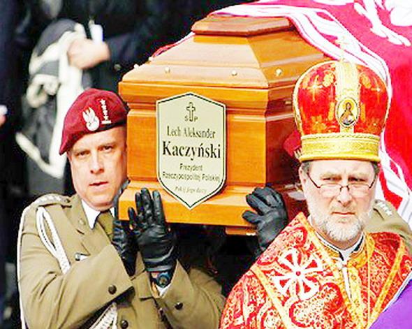 Похороны Качиньского
