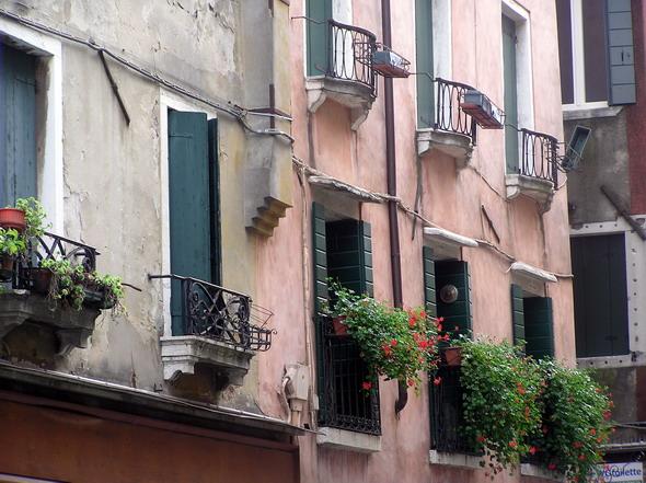 Венецианцы любят цветы