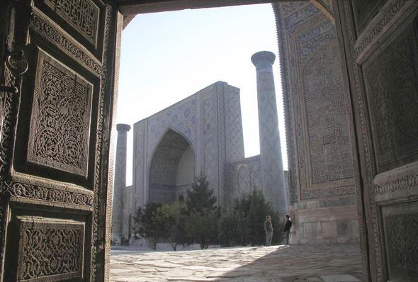 Фото Е. Белиловского: Регистан