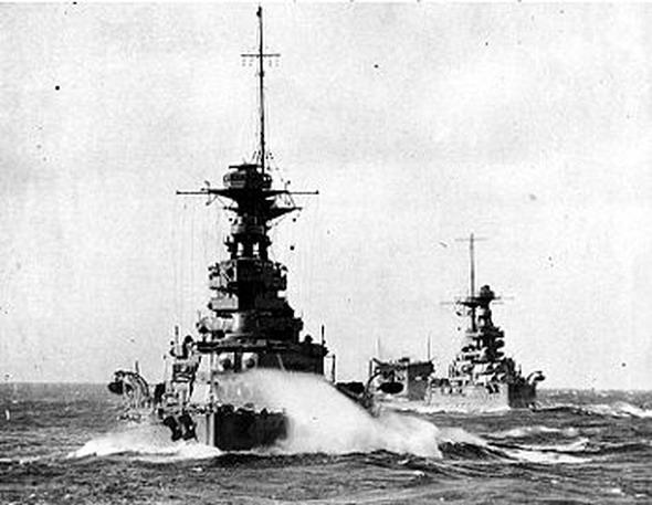 Британский флот в Средиземном море, фото vikipedia.org