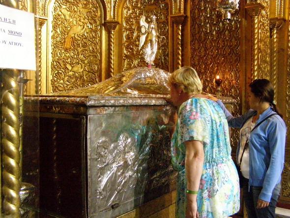Ковчег с мощами Св. Дионисия