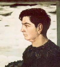 Автор портрета Ж. де Кирико (фрагемент)