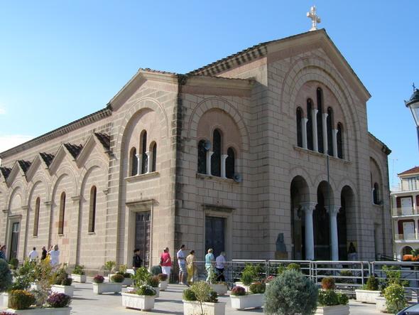 Храм, переживший землетрясение