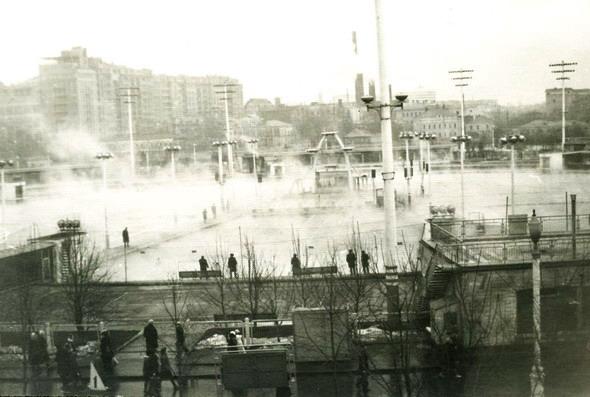 Бассейн Москва 60-е годы