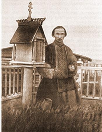 Клюев в Вытегре