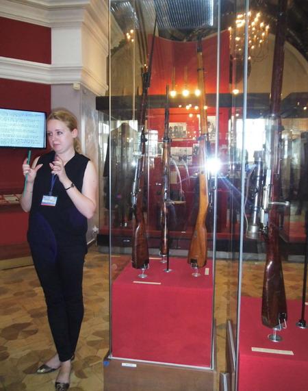 Музей оружия - внутри